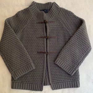 Zara gray/blue sweater size small